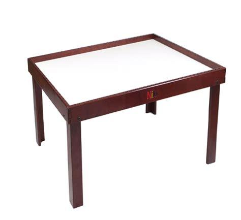 n34e nilo 174 lego table in espresso usa made quality