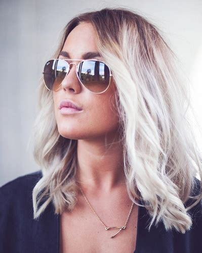 are roots with blonde hair in style blonde lob picmia