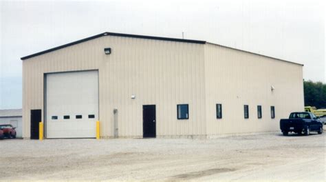 Engineering Aggregates New Office & Shop Addition, Logansport, IN   Steinberger Construction, Inc.
