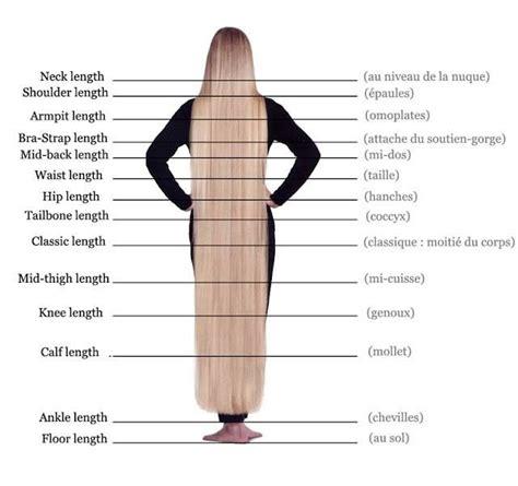 hair length chart hair growth chart classic or mid thigh length goal