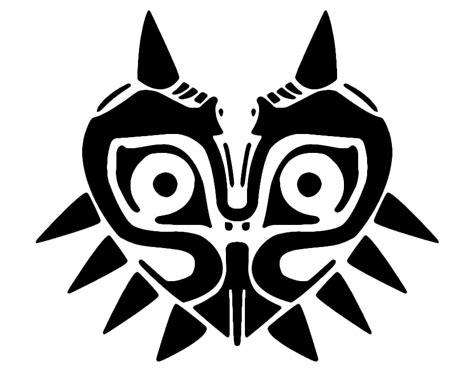 zelda pumpkin pattern majora s mask majorasmask majora s mask stencil click