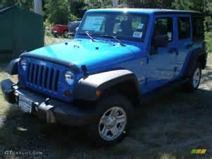 Blue Jeep Jk 2012 Cosmos Blue Jeep Wrangler Unlimited Sport 4x4