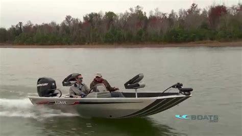 aluminum fishing boat videos lowe stryker aluminum fishing boat review performance