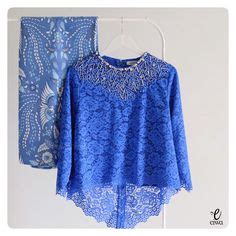 Blouse Combo Brokat sleeve lace top kebaya brokat simple lace top
