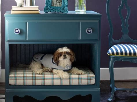 dresser dog bed how to turn a dresser into a pet bed and nightstand how