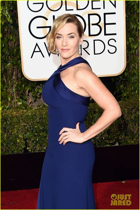 Kate Winslet At The Golden Globes by Kate Winslet Is A Ralph At Golden Globes