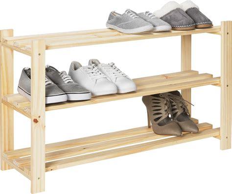 fully assembled shoe cabinet sale on home 3 shelf shoe storage rack solid unfinished