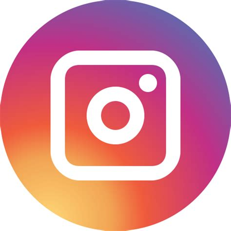 circle icon tutorial for instagram social media circle instagram icon free of social media