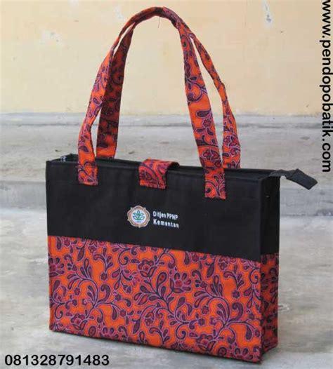 Tas Wanita Bahan Kanvas Secret pendopobatik konveksi tas seminar tas pelatihan murah tas seminar batik tas seminar kit