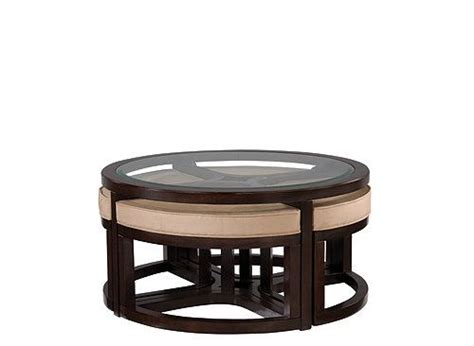 glass coffee table with ottomans juniper glass coffee table and ottomans coffee tables
