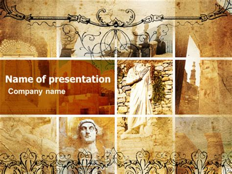 rome themes powerpoint roman architecture presentation template for powerpoint