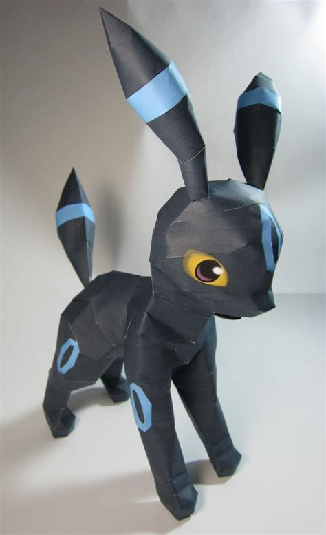 Umbreon Papercraft - shiny umbreon papercraft by kitzybitzyy on deviantart