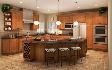 in stock landmark wheat oak cabinets beyond arizona