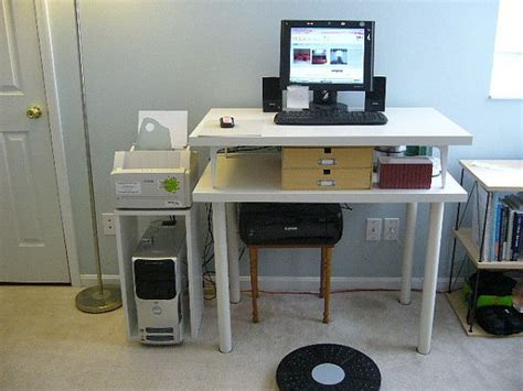 diy standing desk ikea 20 diy desks that really work for your home office