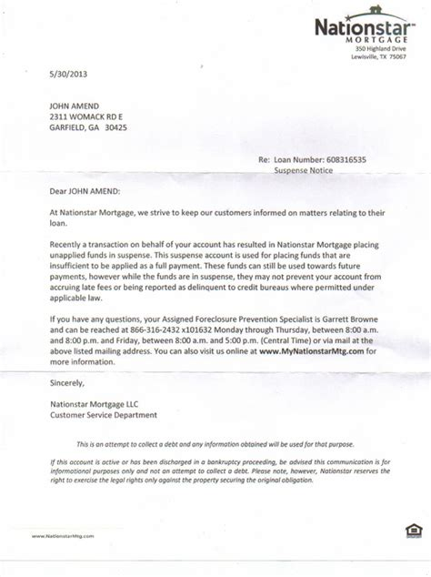 ripoff report nationstar mortgage complaint review