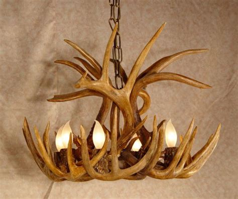 How To Make A Deer Horn Chandelier How To Make An Antler Chandelier