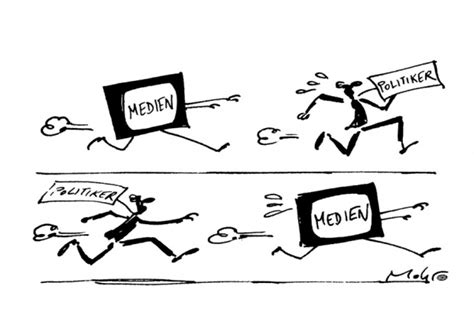 mb  politiker und medien karikatur bpb
