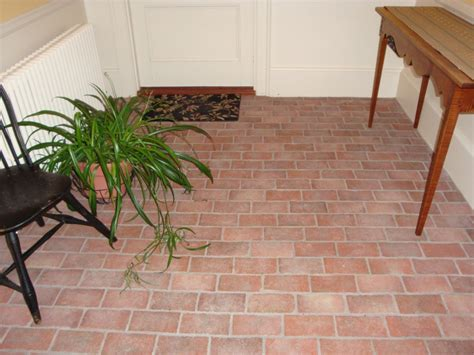 Brick Tile Floor by Entryways And Hallways Inglenook Brick Tiles Thin