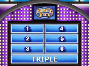 Family Fued Powerpoint Template by Family Feud Template Beepmunk