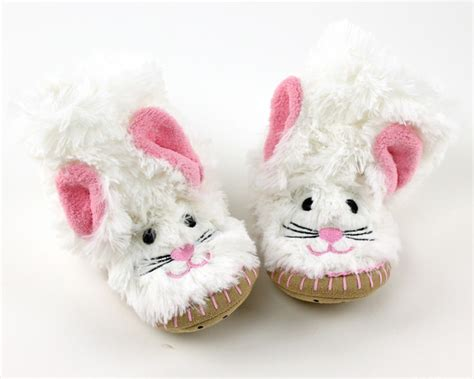bunny rabbit slippers bunny slouch slippers children s bunny slippers