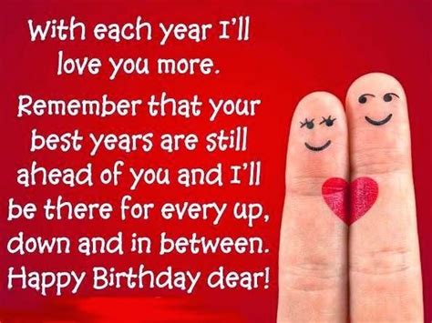 Happy Birthday Quotes For Him Happy Birthday Quotes For Husband Wife Boyfriend Or