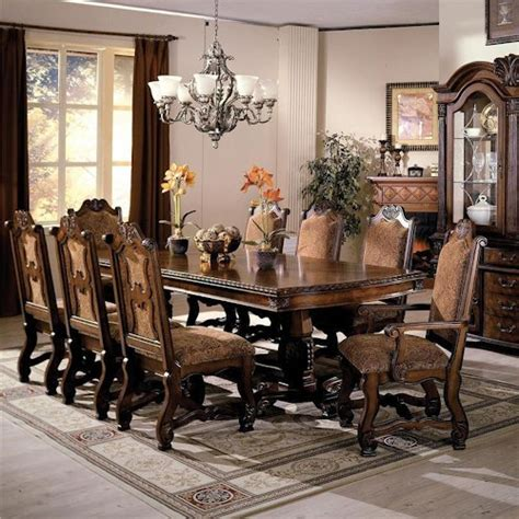 Dining Room Sets Norcross Ga Crown Neo Renaissance Pedestal Dining Table