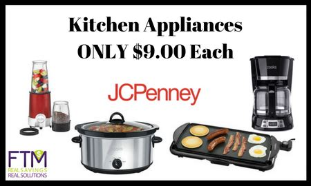 jcpenney kitchen appliances jcpenney small kitchen appliances for only 9 00 reg 40