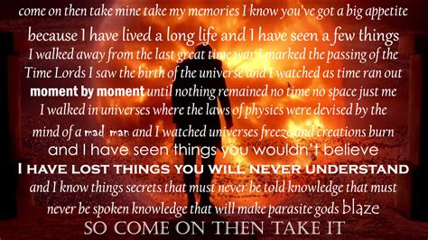 epic film monologues epic doctor who quotes quotesgram