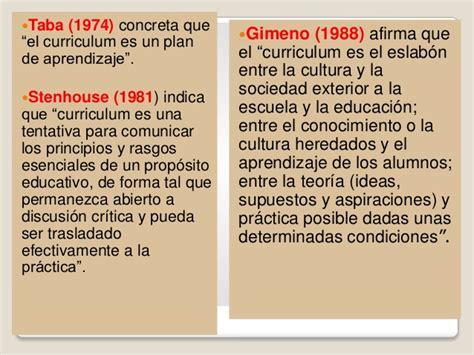 Diseã O Curricular De Y Taba El Curriculo Barrea