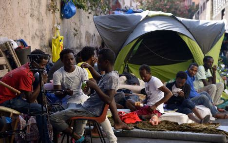 groundhog day homeless groundhog day for migrants in rome cul de sac the local