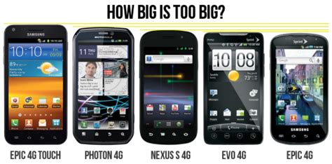 next android phone your next android phone how big is big poll