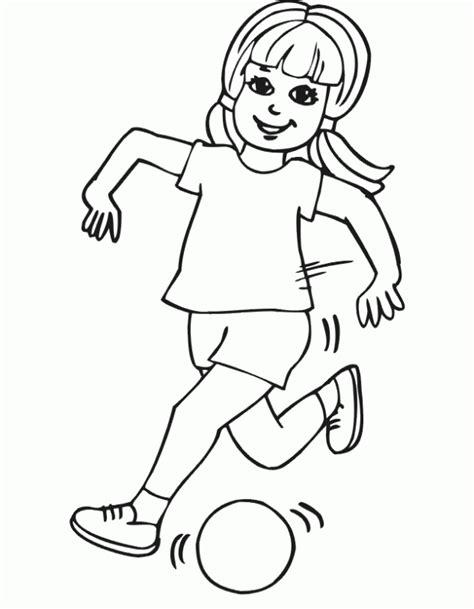 coloring pages of a girl running dibujos para colorear maestra de infantil y primaria