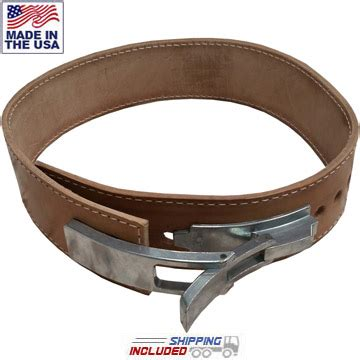 bench press belt ironcompany 6 5mm thick 3 inch leather lever bench belt