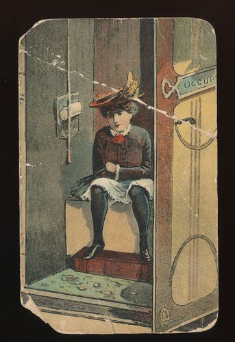 risque photos on ebay old risque lady sitting on toilet outhouse antique 1900 s
