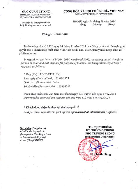 Approval Letter From Employer To The Embassy For A Vacation Visa Faqs Apply Visa In India Visa Requirements For Indian