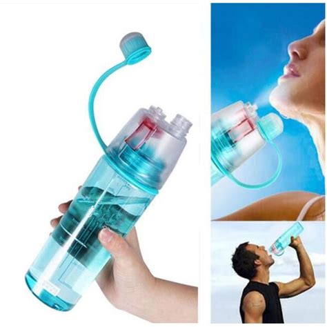 Botol Minum My Bottle Spray 600ml new b botol minum dengan spray 600ml sm 8520 blue
