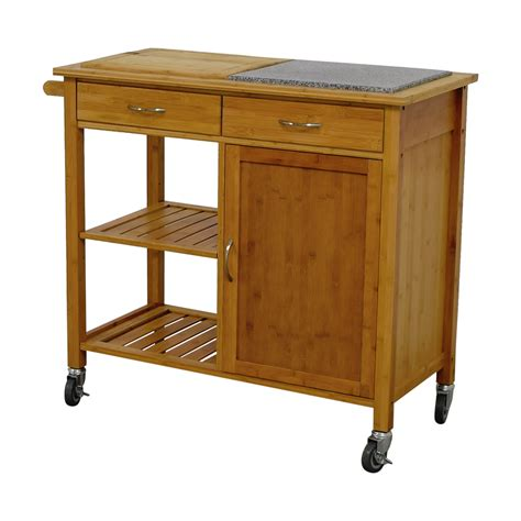 linon kitchen island 48 linon home linon home bamboo rolling kitchen