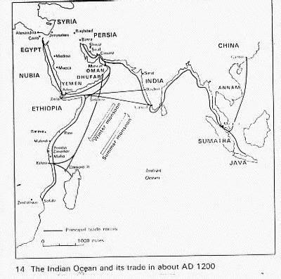 indian ocean trade  classroom simulation african