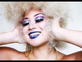 makeup for women in their 70s tutorial disco diva makeup mila victoria youtube