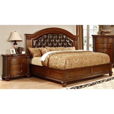 2 piece bedroom set furniture of america sorella 2 piece panel california king