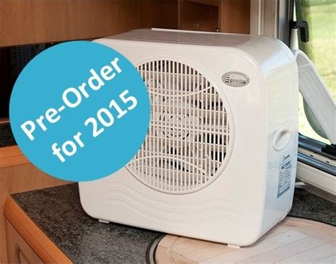 solar powered air conditioner for caravan pre order cool my cer air conditioning smallest most