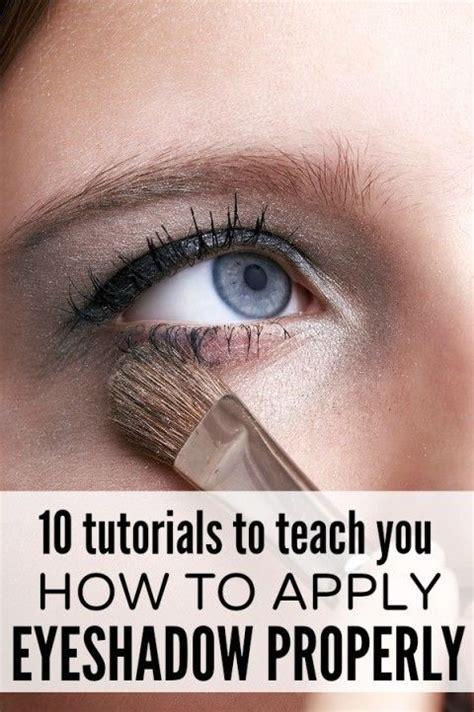 tutorial eyeshadow application 5 tutorials to teach you how to apply eyeshadow properly
