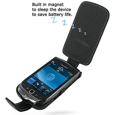 Flipcase Blackberry 9800 pdair leather flip for blackberry torch 9800