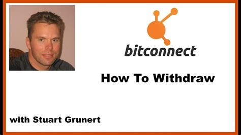 Bitconnect How To Withdraw | bitconnect how to withdraw youtube