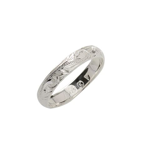 Wedding Rings Hawaii by 4mm Scrolling Rings Makani Hawaii Hawaiian Heirloom
