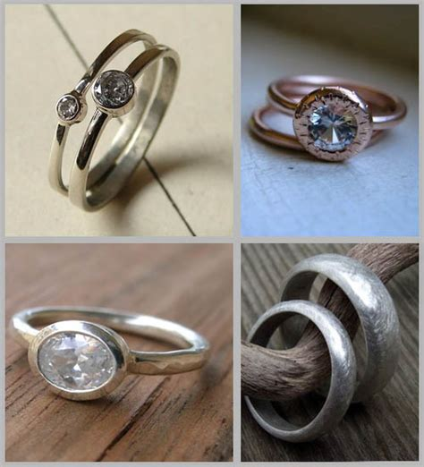 Handcrafted Wedding Rings - handmade wedding rings wedding ring