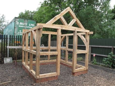post  beam shed construction google search shed
