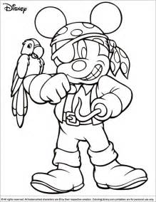 halloween disney coloring picture