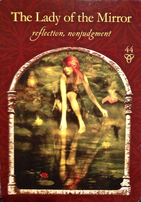 wisdom of the hidden realms oracle cards by colette baron the lady of the mirror archangel oracle divine guidance