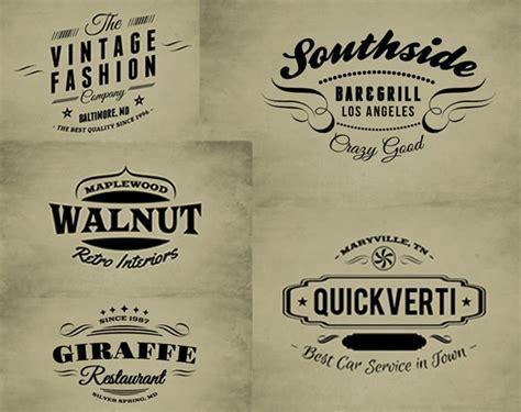 vintage logo template 30 free vintage logo templates web design ledger